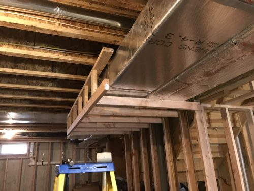 Soffits Or Drywalled Bulkheads That Drop Down From Other Parts Of The Ceiling Are A Nice Architectural Feature They Also Serve Very Functional Need